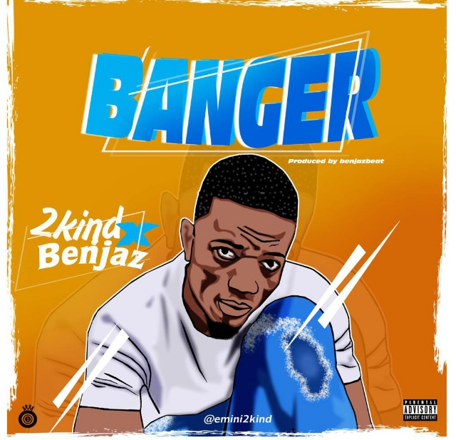 *Brand new song* *2Kind X Benjaz Banger* 👇 https://musiceasy8.com/2020/12/19/music-2kind-x-benjaz-banger/ To round up 2020 the Dance hall and afrobeat sensation 2kind drops another Hot tune untitled Banger which features Benjaz Banger was produced by . Benjazbeatz Stream below👇 https://audiomack.com/musiceasy8/song/banger-musiceasy8com